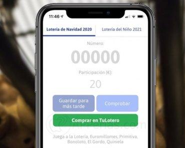 Cómo comprobar números y décimos de la Lotería del Niño 2021 [APP]