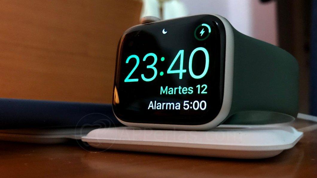 Apple Watch como reloj despertador