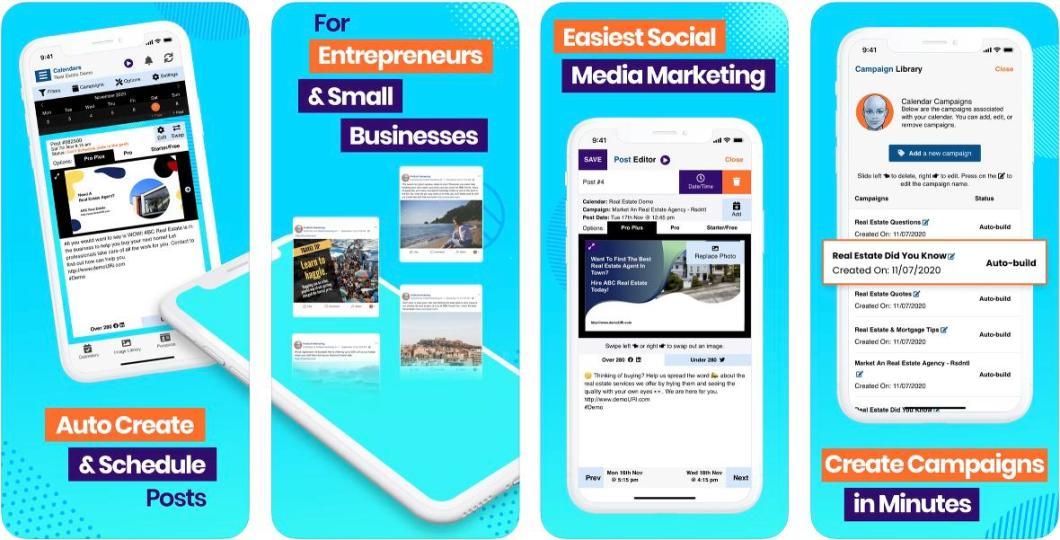App para gestionar campañas de marketing