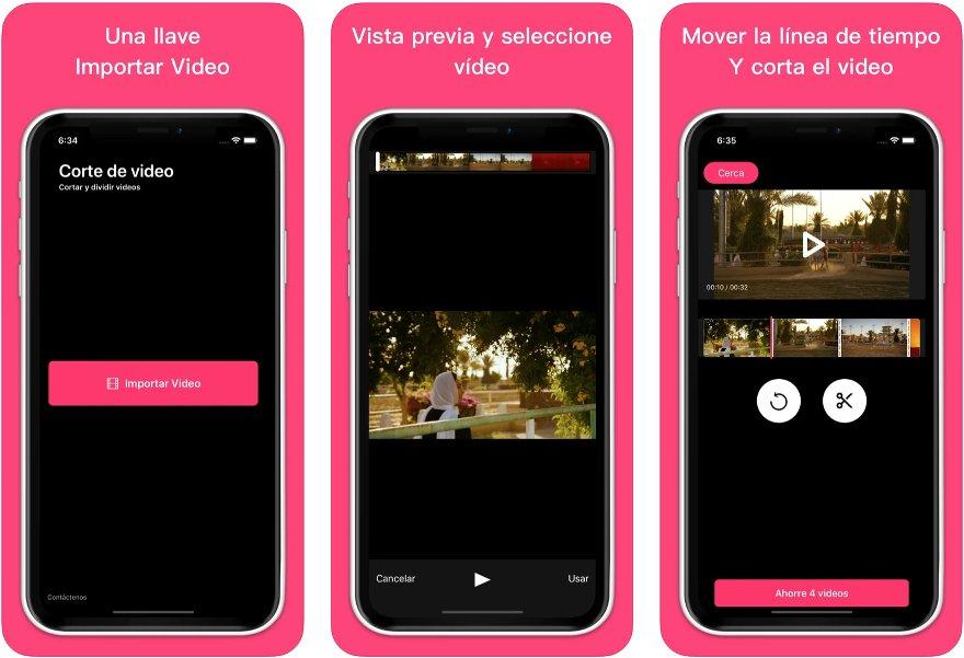 App para cortar la duración de vídeos