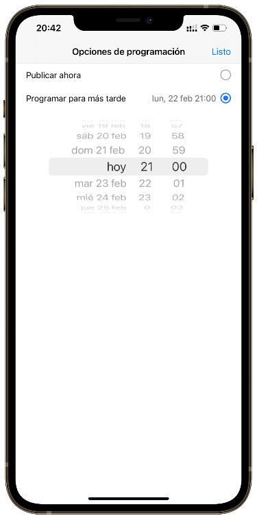 schedule posts 2