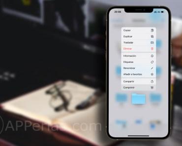 Cómo compartir una carpeta de iCloud en la app que quieras