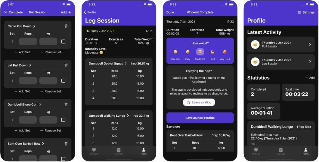 App para ponerse en forma