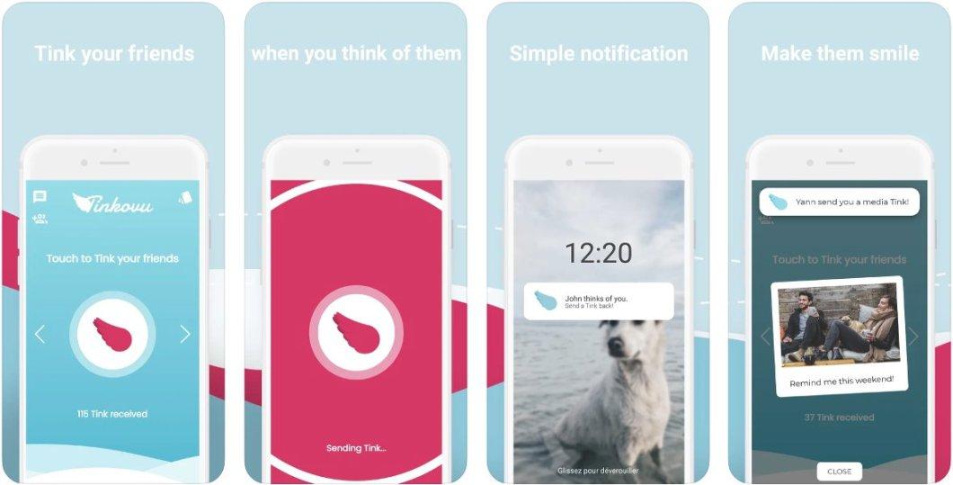 App sencilla de mensajería