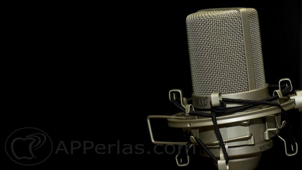 grabar una voz en off