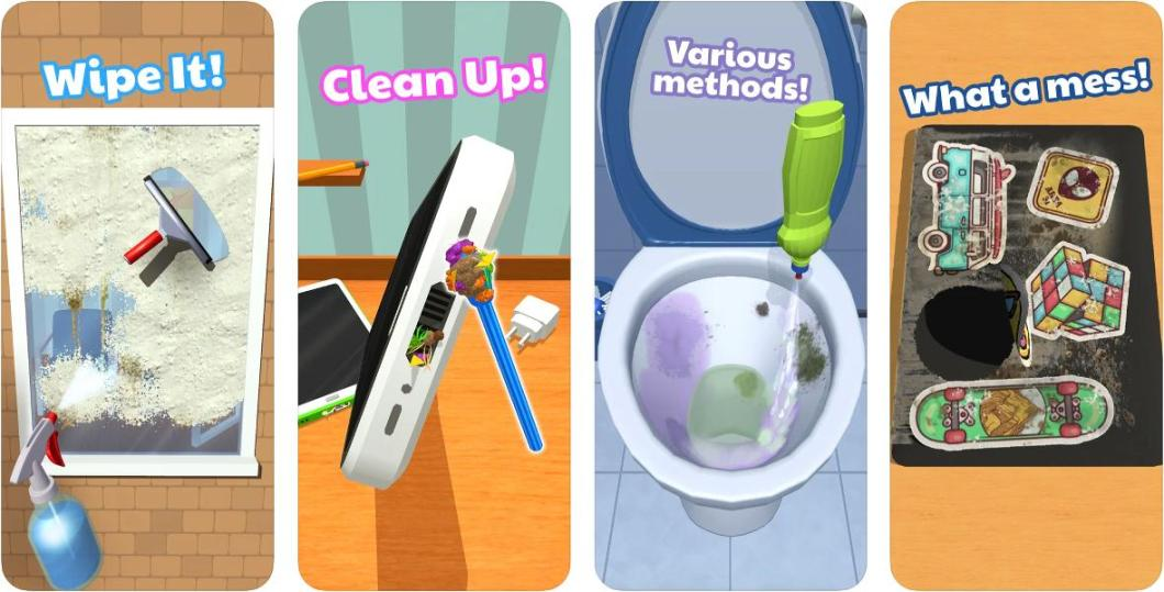Juego de limpieza para iPhone