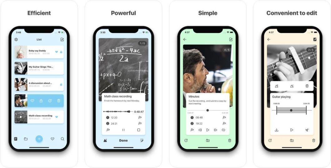 App de notas voz para iPhone