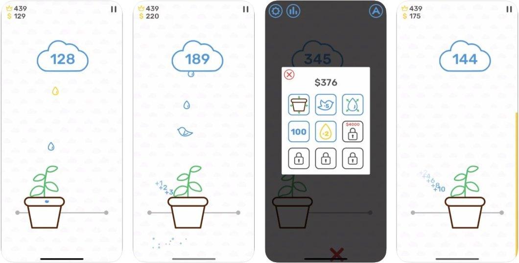 Juego de lluvia para iOS