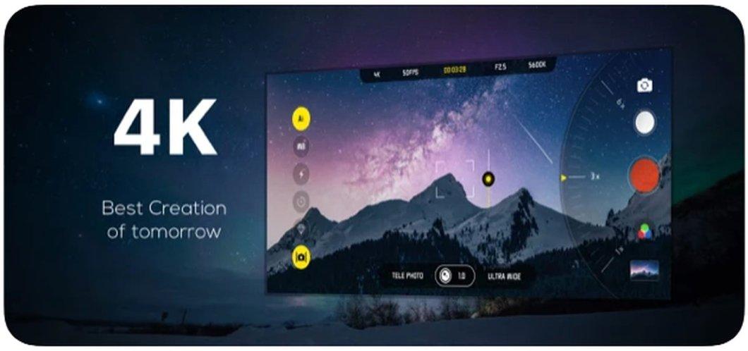 App para grabar vídeo en 4K