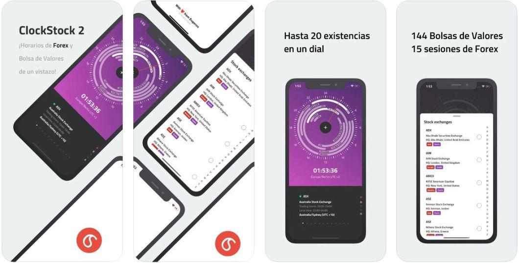 App de bolsa para iPhone