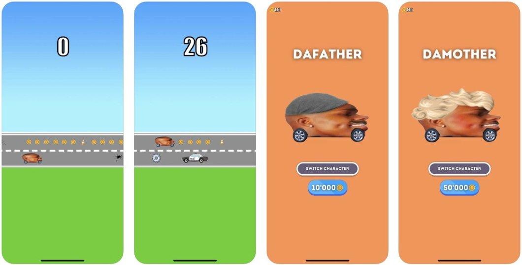 Sencillo juego para iPhone