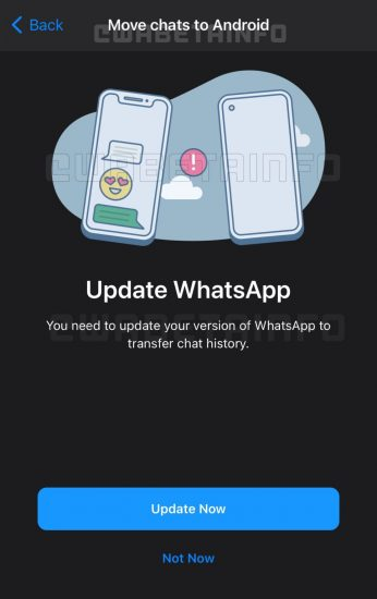 migrar transferir chats iphone andorid whatsapp 1