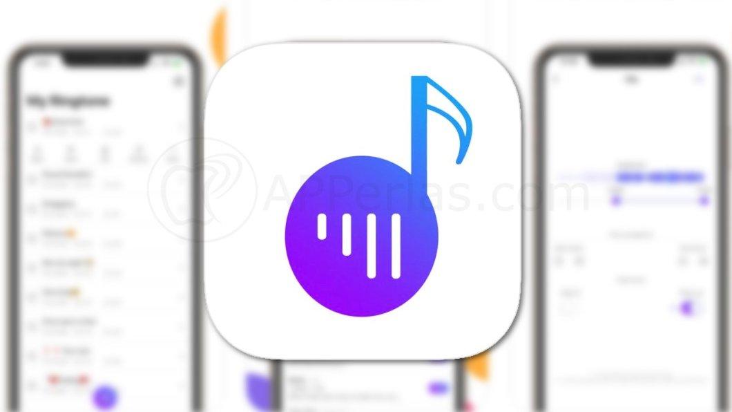 App para poner un tono de llamada personalizado en iPhone