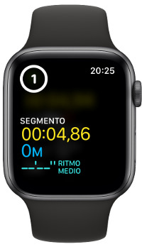 vuelta rápida con el Apple Watch 1