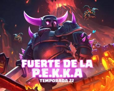 La temporada 22 de Clash Royale trae de nuevo al Fuerte de la Pekka