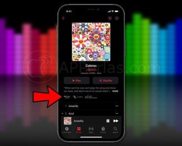 Cómo saber qué canciones son compatibles con audio espacial en Apple Music