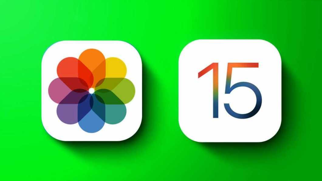 Novedades en la app Fotos de iOS 15