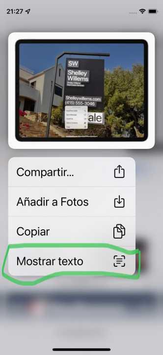 Live Text en la Beta de iOS 15