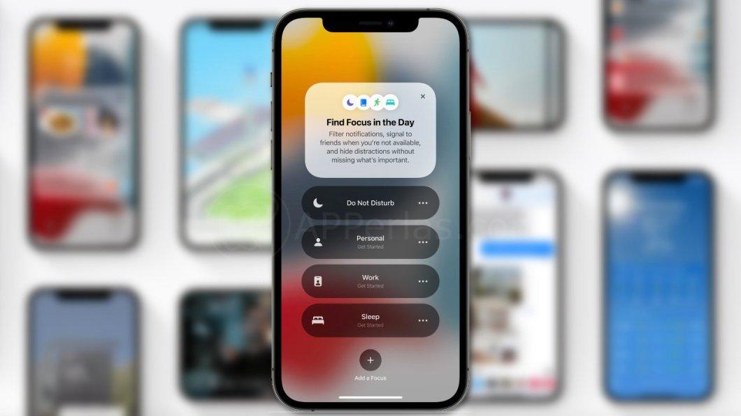 Focus en iOS 15