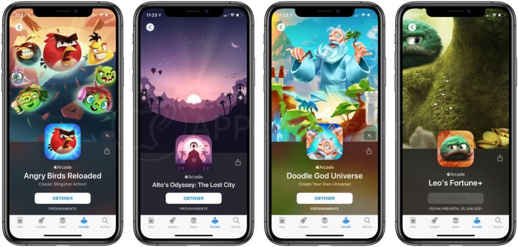 Nuevos juegos llegan a Apple Arcade