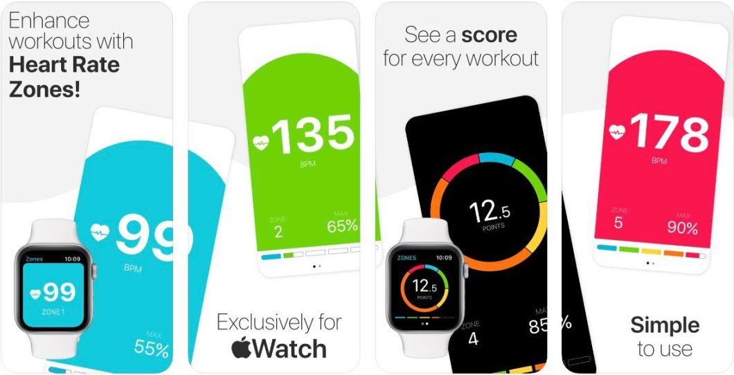 Watch Heart Rate Zones App