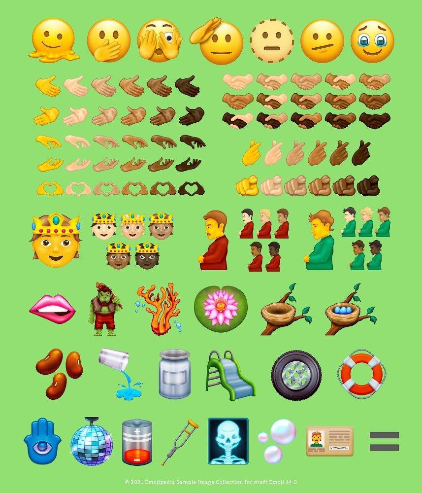 Emojis 2021-2022