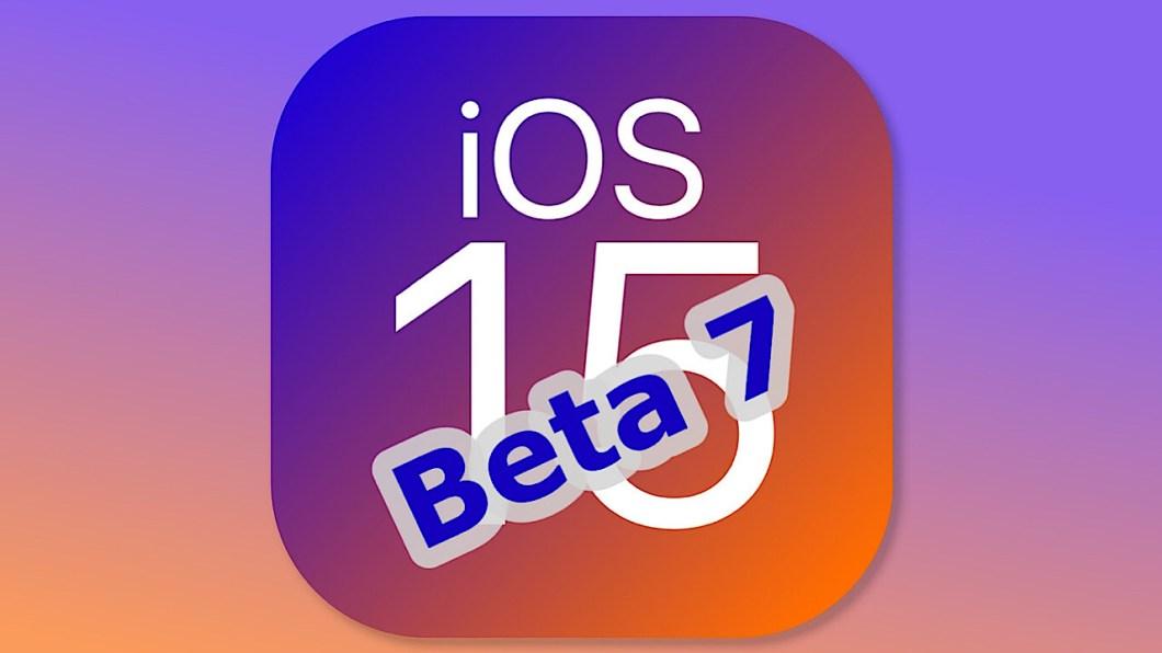 Beta 7 de iOS 15