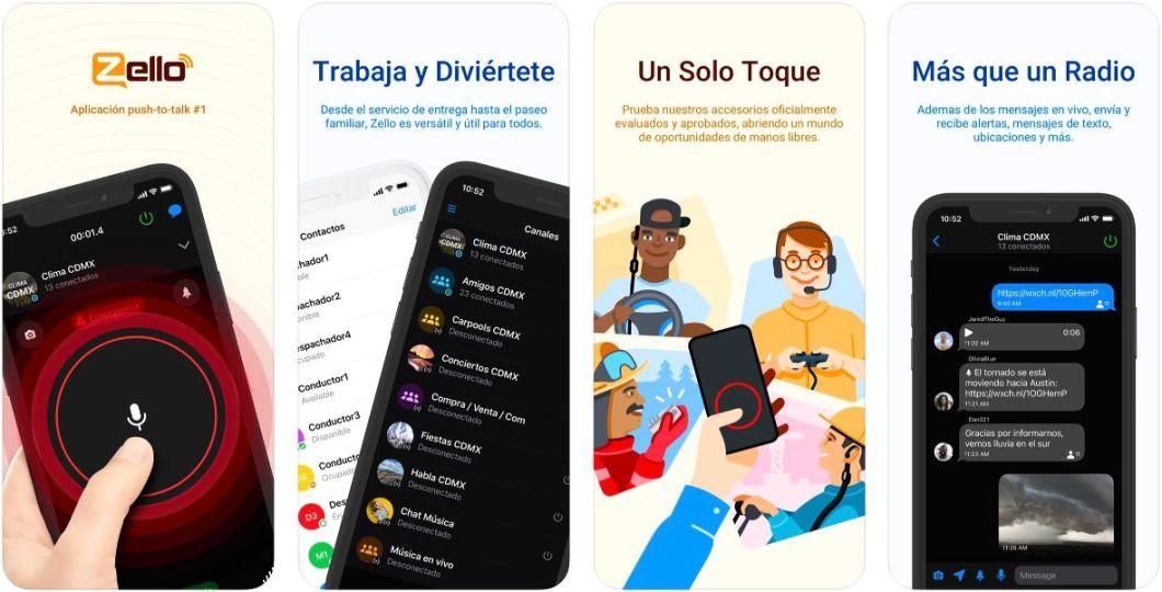App de Walkie-Talkie para iPhone
