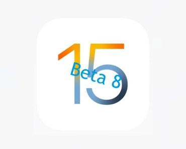 Ya ha salido la beta 8 de iOS 15. Se acerca el final de iOS 14