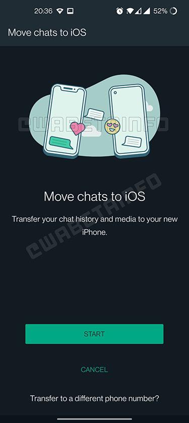 pasar chats android a ios whatsapp 1