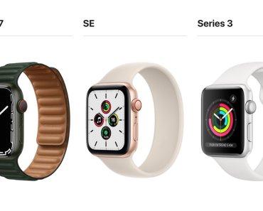 Diferencias entre el Apple Watch Series 7 y el Apple Watch SE