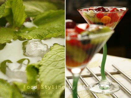 edible mixology [peppermint]... food styling notes by ockstyle