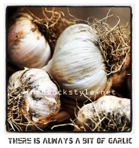 There is always a bit of garlic by OCKSTYLE