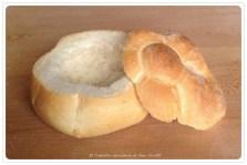 Ingredienti per il Ciabotto :: Panino tipo rosetta soffiata