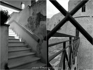 Passeggiando nei vicoli di Rocca San Giovanni (Chieti) - Sbirciando nella fortificazione Castello Aragonese di Ortona (Chieti) | photo: ©MateldaCodagnone