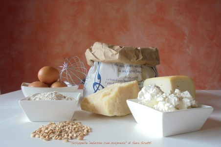 """The ingredients for """"Crêpes surprise"""" 