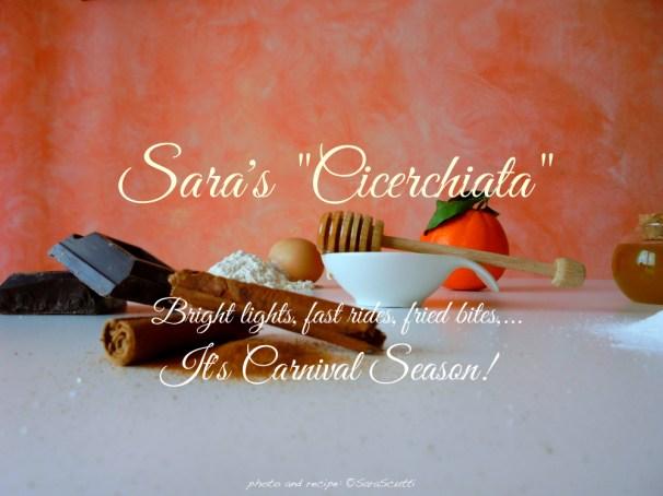 impossible to resist! Cicerchiata abruzzese :: It's Carnival Season! | recipe and photo: ©SaraScutti