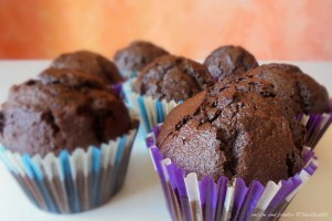 "Sara's Cocoa and Montepulciano ""Drunk Cupcakes"""