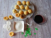 Prepping... :: Cream Peach Cookies | Recipe and Photo ©SaraScutti