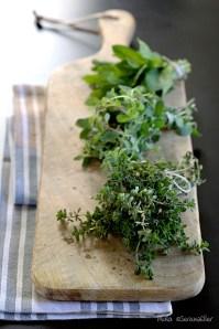 Fresh Herbs :: Food Styling: Orsola Ciriello Kogan | Photo ©SerenaEller