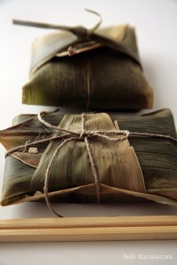 Steamed Rice in Bamboo Leaves :: Recipe and Styling: Orsola Ciriello Kogan | Photo ©LuciaZeccara