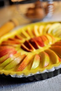 Apple tart :: Recipe and Styling: Orsola Ciriello Kogan | Photo ©LuciaZeccara