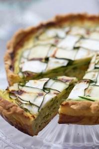 Zucchini Quiche :: Recipe and Food Styling Orsola Ciriello Kogan | Photo: ©SerenaEller