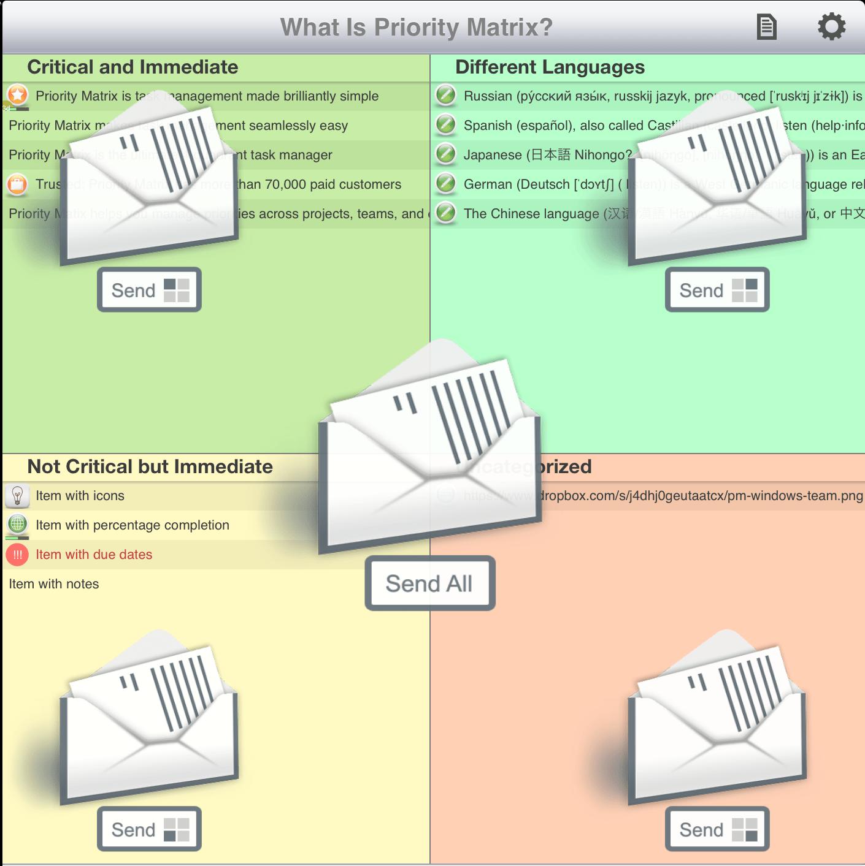 Quadrant Email Reports