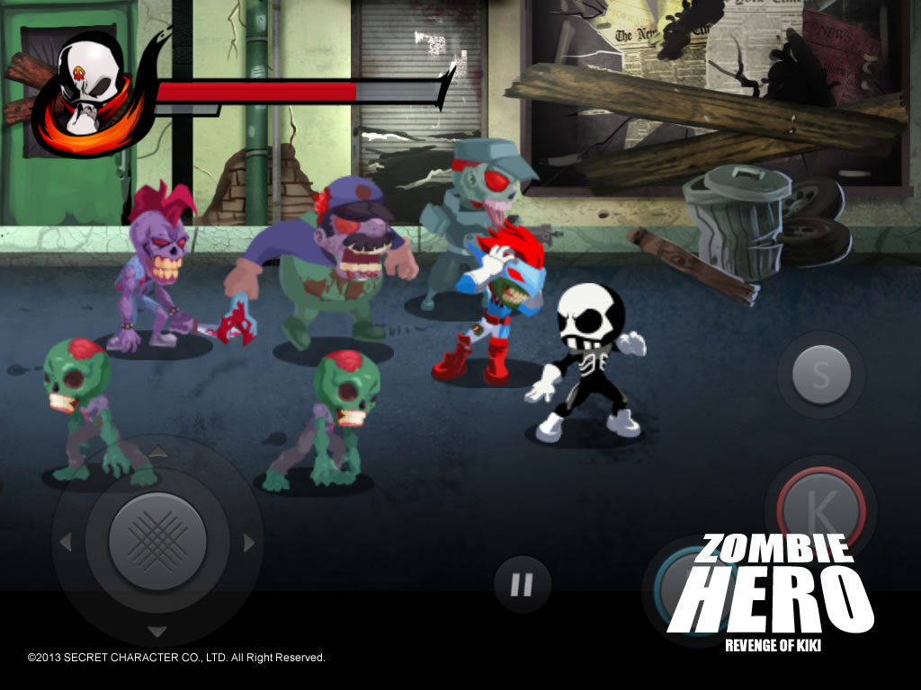 Zombie Hero Artwork
