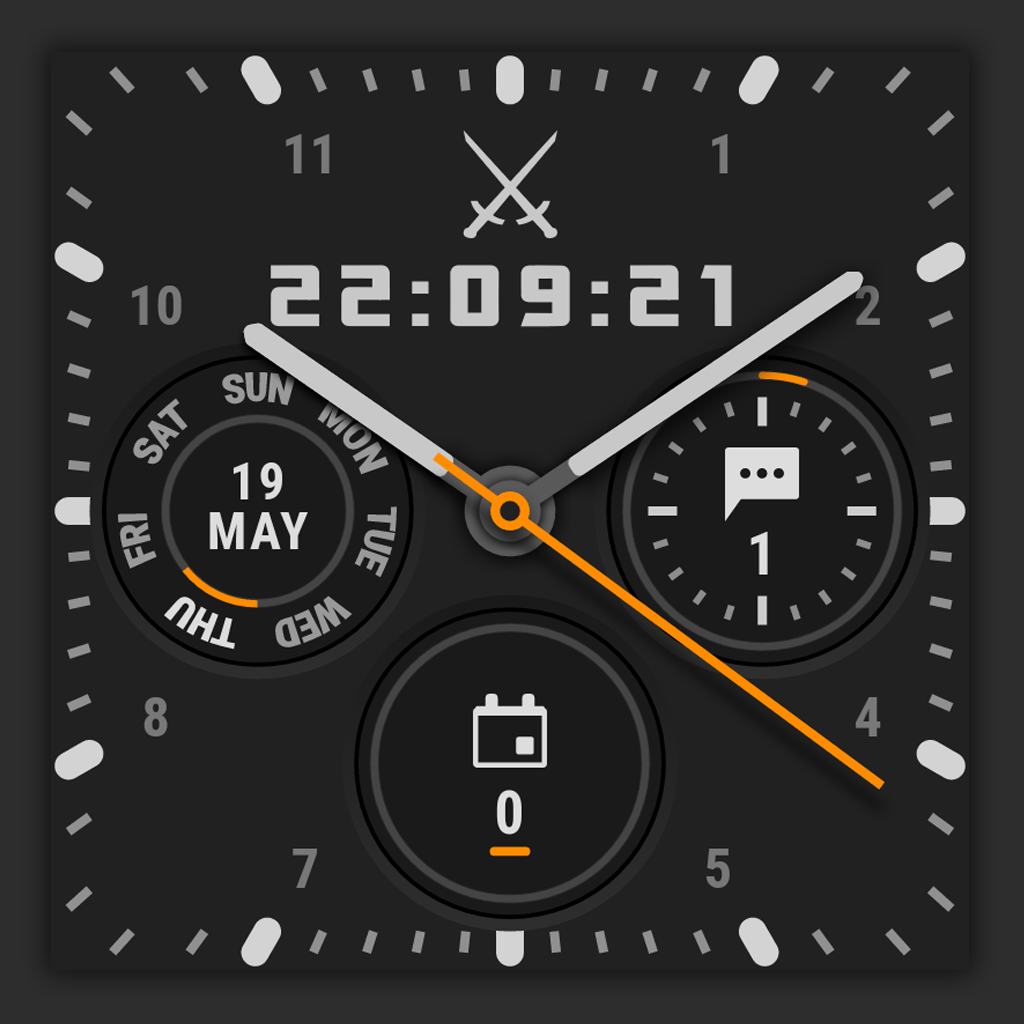 rounded tick marks on square watches