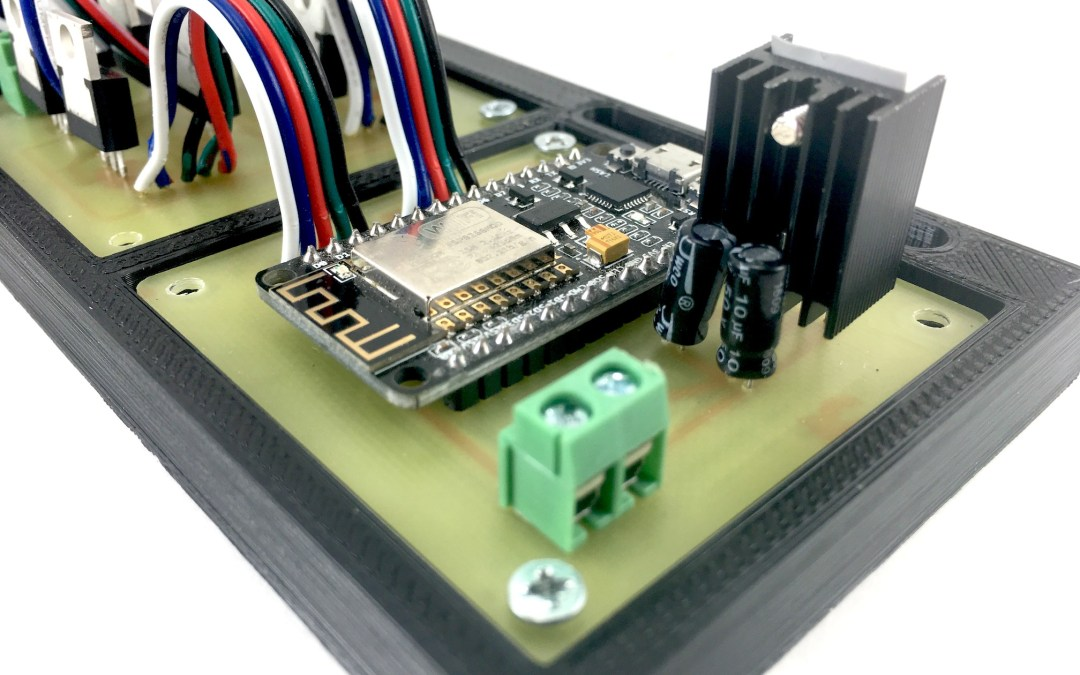 Make Your Own WiFi LED Light Controller (a new Instructable)