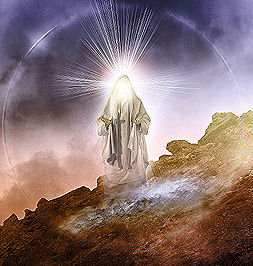 Mozes' gezicht straalde toen hij van de berg kwam