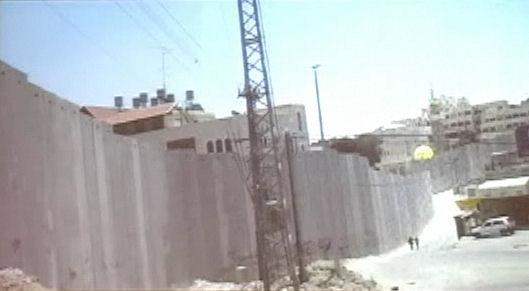 de muur in Israël