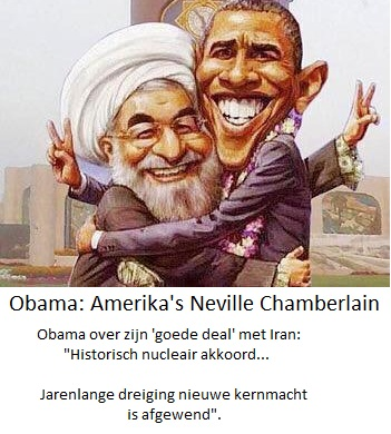 Obama de nieuwe Nevill Chamberlain
